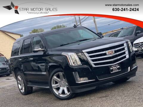 2016 Cadillac Escalade for sale at Star Motor Sales in Downers Grove IL