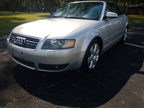 2004 Audi A4 for sale at NINO AUTO SALES INC in Jacksonville FL