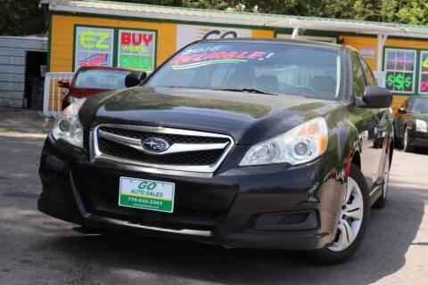 2010 Subaru Legacy for sale at Go Auto Sales in Gainesville GA