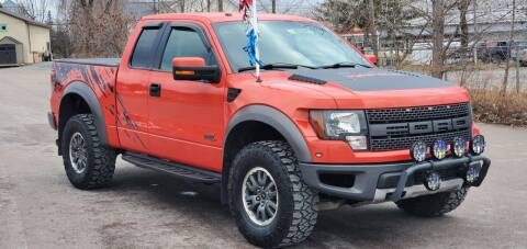 2011 Ford F-150 for sale at Dussault Auto Sales in Saint Albans VT