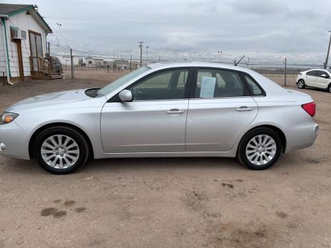 2010 Subaru Impreza for sale at PYRAMID MOTORS - Fountain Lot in Fountain CO