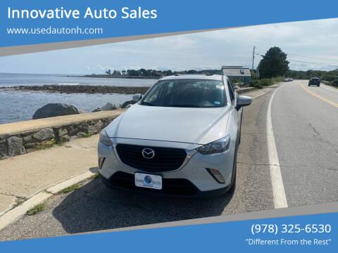 2017 Mazda CX-3 for sale at Innovative Auto Sales in North Hampton NH