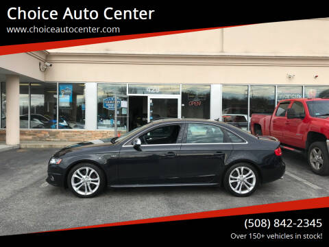 2011 Audi S4 for sale at Choice Auto Center in Shrewsbury MA