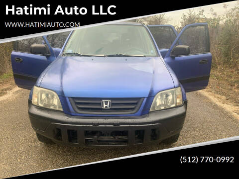 2000 Honda CR-V for sale at Hatimi Auto LLC in Buda TX