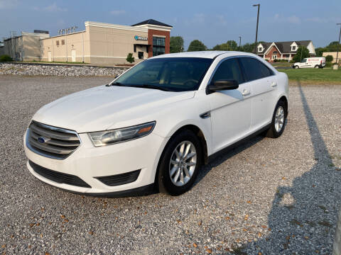 2015 Ford Taurus for sale at McCully's Automotive in Benton KY