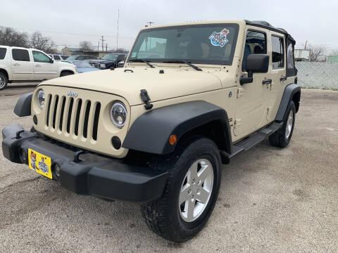 2011 Jeep Wrangler Unlimited for sale at Atrium Autoplex in San Antonio TX