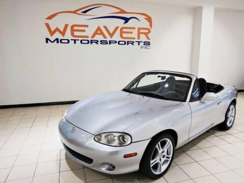 2004 Mazda MX-5 Miata for sale at Weaver Motorsports Inc in Cary NC