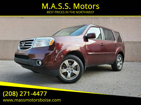 2012 Honda Pilot for sale at M.A.S.S. Motors in Boise ID