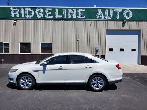 2011 Ford Taurus for sale at RIDGELINE AUTO in Chubbuck ID