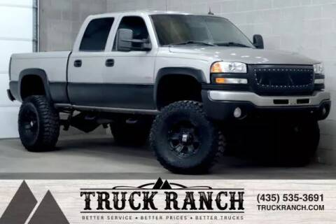 2003 GMC Sierra 2500HD for sale at Truck Ranch in Logan UT