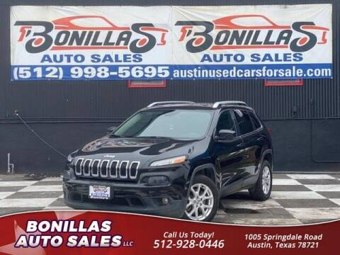 2015 Jeep Cherokee for sale at Bonillas Auto Sales in Austin TX