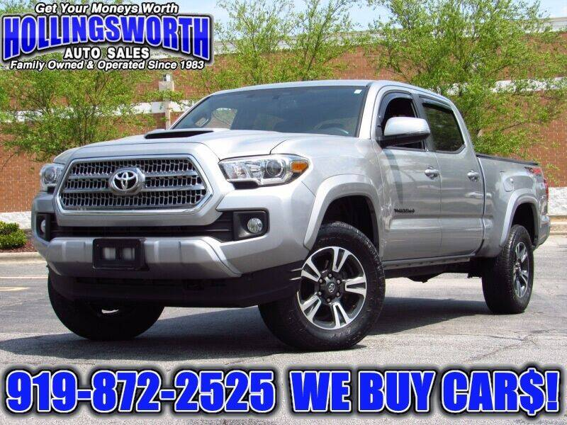 2017 Toyota Tacoma for sale at Hollingsworth Auto Sales in Raleigh NC