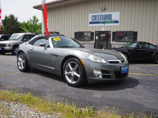 2007 Saturn SKY for sale at Crestwood Auto Sales in Swansea MA