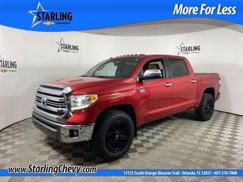 2016 Toyota Tundra for sale at Pedro @ Starling Chevrolet in Orlando FL