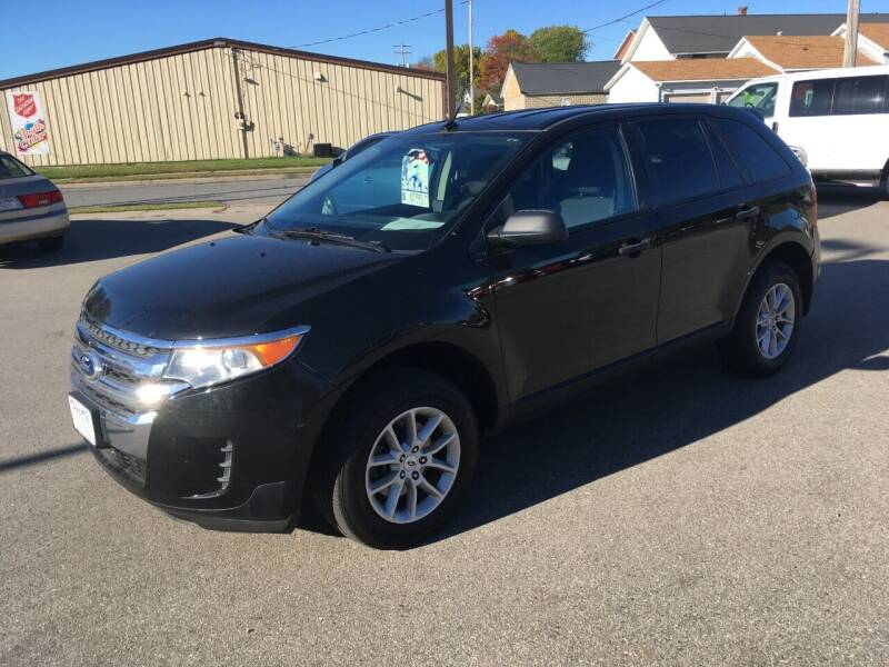 2014 Ford Edge for sale at AUTO PLUS INC in Marinette WI
