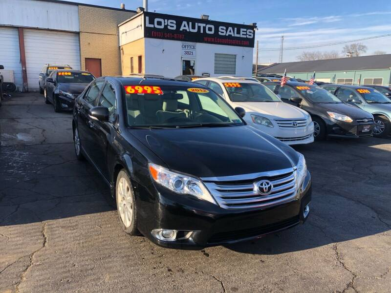 2012 Toyota Avalon for sale at Lo's Auto Sales in Cincinnati OH