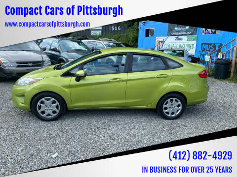 2013 Ford Fiesta for sale at Compact Cars of Pittsburgh in Pittsburgh PA