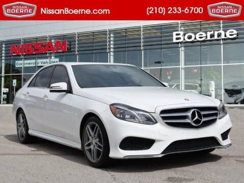 2016 Mercedes-Benz E-Class for sale at Nissan of Boerne in Boerne TX