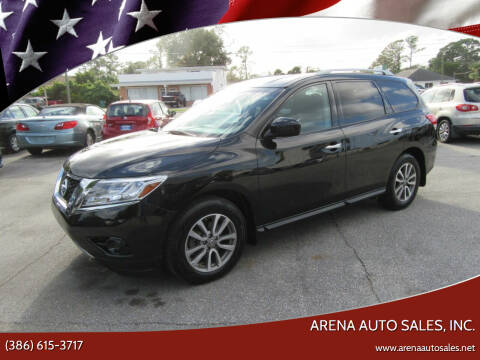 2016 Nissan Pathfinder for sale at ARENA AUTO SALES,  INC. in Holly Hill FL