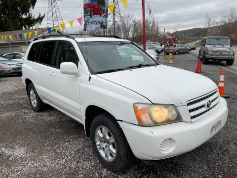 2001 Toyota Highlander for sale at Trocci's Auto Sales in West Pittsburg PA