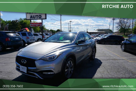 2017 Infiniti QX30 for sale at Ritchie Auto in Appleton WI