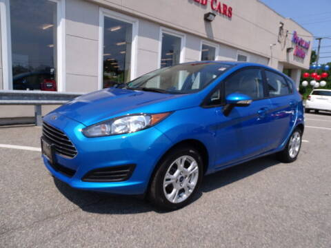 2014 Ford Fiesta for sale at KING RICHARDS AUTO CENTER in East Providence RI