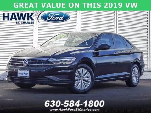 2019 Volkswagen Jetta for sale at Hawk Ford of St. Charles in St Charles IL