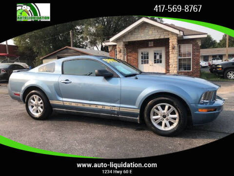 2007 Ford Mustang for sale at Auto Liquidation in Springfield MO