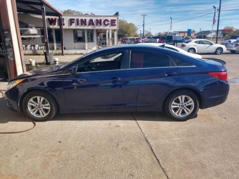 2013 Hyundai Sonata for sale at BIG 7 USED CARS INC in League City TX