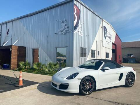 2013 Porsche Boxster for sale at Barrett Auto Gallery in San Juan TX