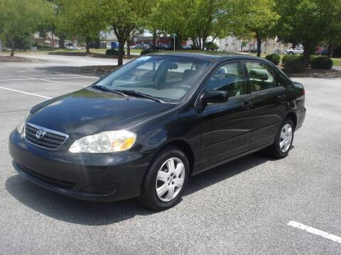 2007 Toyota Corolla for sale at Uniworld Auto Sales LLC. in Greensboro NC