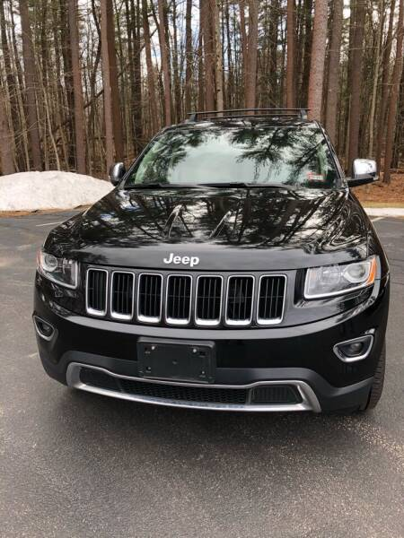 2014 Jeep Grand Cherokee for sale at Dave's Garage Inc in Hampton NH