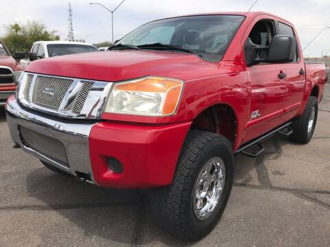 2008 Nissan Titan for sale at Town and Country Motors in Mesa AZ