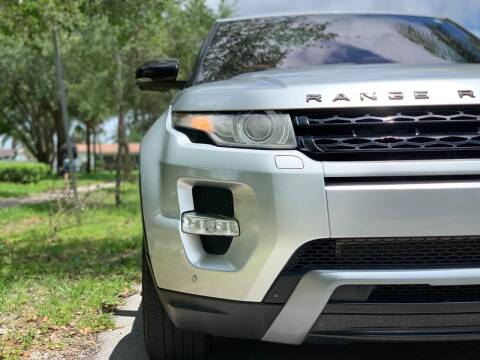 2017 Land Rover Range Rover Evoque for sale at HIGH PERFORMANCE MOTORS in Hollywood FL