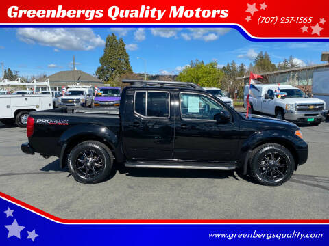 2011 Nissan Frontier for sale at Greenbergs Quality Motors in Napa CA