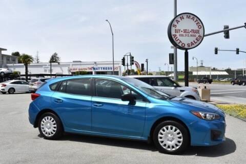 2017 Subaru Impreza for sale at San Mateo Auto Sales in San Mateo CA