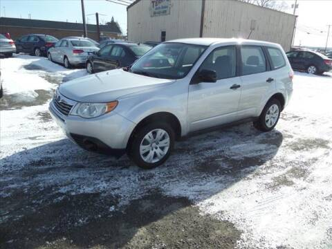 2010 Subaru Forester for sale at Terrys Auto Sales in Somerset PA