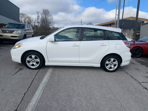 2005 Toyota Matrix for sale at State Line Motors in Bristol VA
