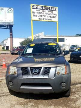 2007 Nissan Xterra for sale at CAPITOL AUTO SALES LLC in Baton Rouge LA