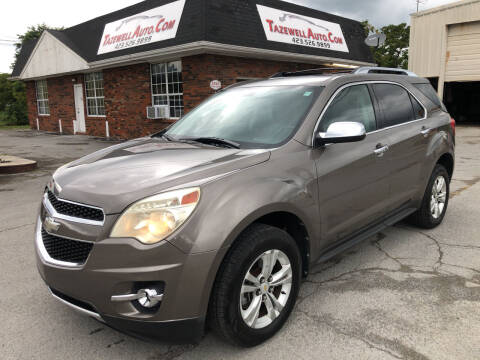 2010 Chevrolet Equinox for sale at tazewellauto.com in Tazewell TN