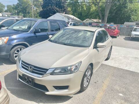 2015 Honda Accord for sale at Tiger Auto Sales in Columbus OH