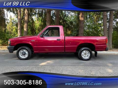 1995 Mazda B-Series Pickup for sale at LOT 99 LLC in Milwaukie OR