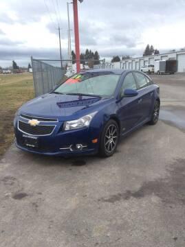 2013 Chevrolet Cruze for sale at Atlas Automotive Sales in Hayden ID