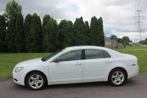 2010 Chevrolet Malibu for sale at D & B Auto Sales LLC in Washington MI