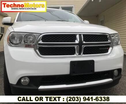 2013 Dodge Durango for sale at Techno Motors in Danbury CT