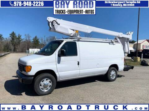2004 Ford E-350 for sale at Bay Road Trucks in Newbury MA