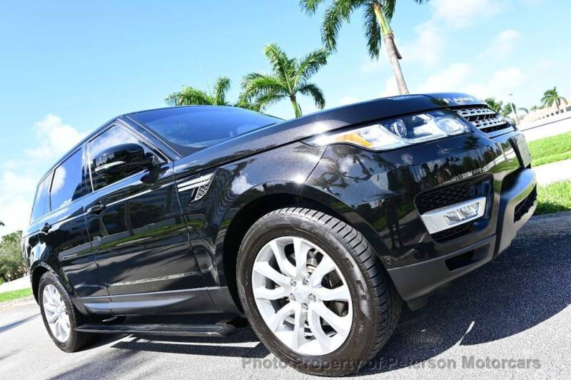 2016 Land Rover Range Rover Sport for sale at MOTORCARS in West Palm Beach FL