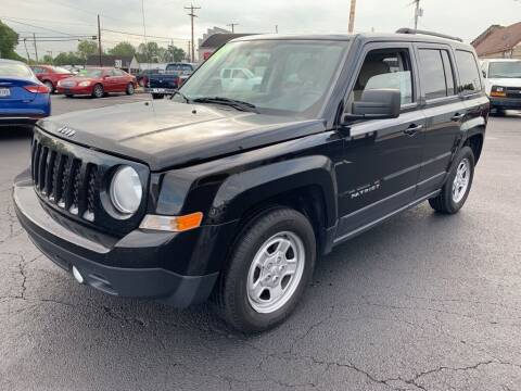 2014 Jeep Patriot for sale at Used Car Factory Sales & Service Troy in Troy OH