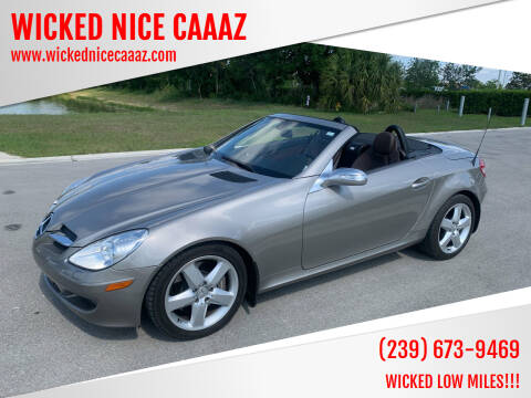 2005 Mercedes-Benz SLK for sale at WICKED NICE CAAAZ in Cape Coral FL