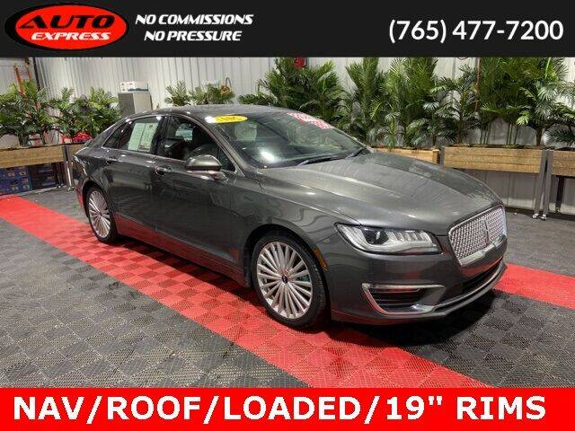 2017 Lincoln MKZ for sale at Auto Express in Lafayette IN